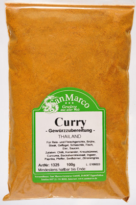 Curry, rot, Type Thai