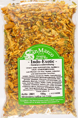 Indo-Exotic-Mischung