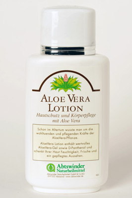AloeVera-Lotion
